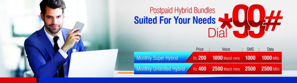Postpaid Hybrid offer