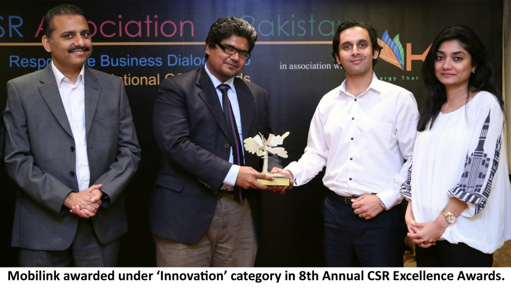 Mobilink-Wins-CSR-Awards-English-Picture